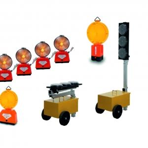 Výstražné svetlá a semafórové súpravy